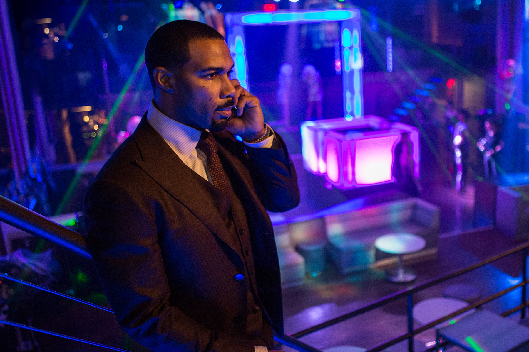 "Omari Hardwick as James ""Ghost"" St. Patrick"