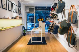 The store's first location is nestled in the heart of Soho.