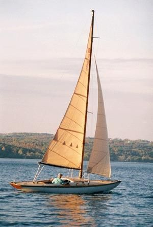 1947 Quincy Adams sailboat