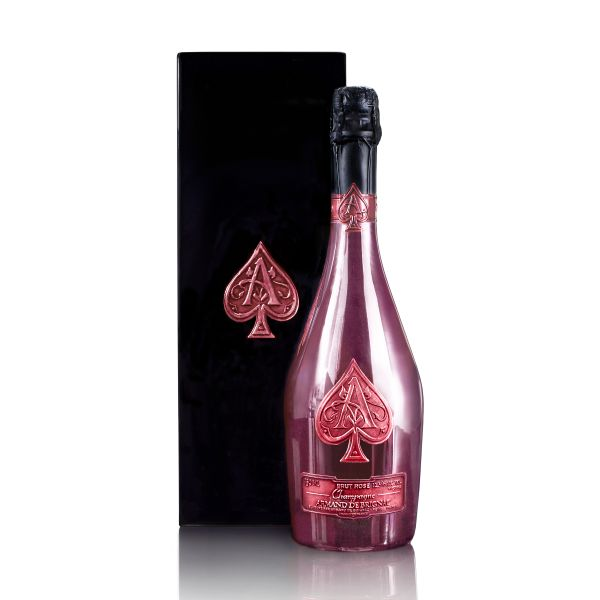 Champagne Armand de Brignac Rosé Cuvee