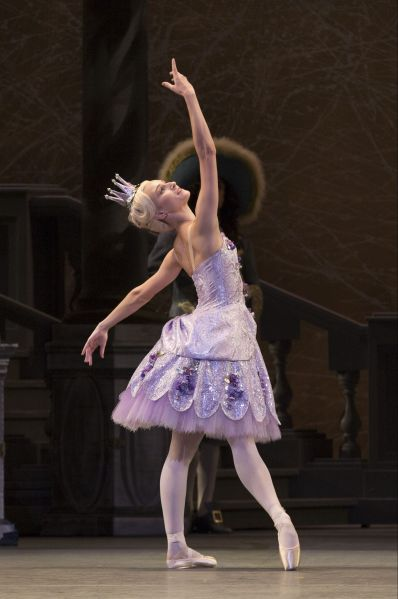 Devon Teuscher as the Lilac Fairy in The Sleeping Beauty.
