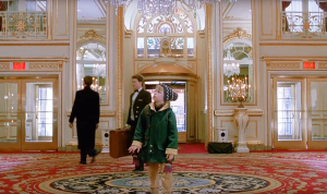 The infamous scene in Home Alone 2 was shot when Donald Trump owned the Plaza.