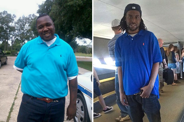 Alton Sterling (left) and Philando Castile (right).