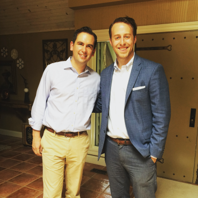 Jersey City Mayor Steve Fulop with former congressional candidate Alex Law met over the weekend. Law mounted a highly critical campaign against incumbent congressman Donald Norcross, political ally to Fulop's gubernatorial rival Steve Sweeney.
