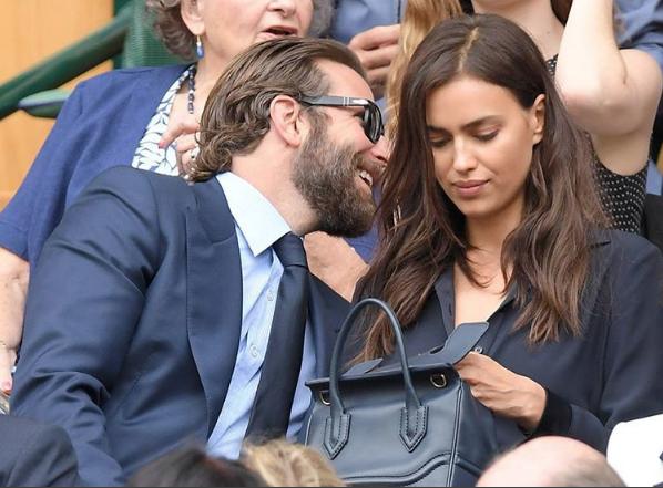 Bradley Cooper and Irina Shayk, pre-squabble.