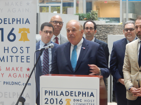 Rendell at Wednesday's press conference