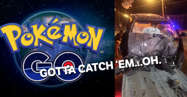 Don't Pokemon Go and drive.