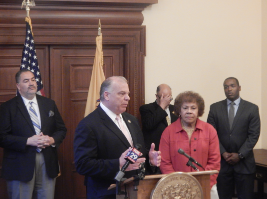 Sweeney and Turner, who called for new police reforms in the wake of recent deadly shootings by and of police