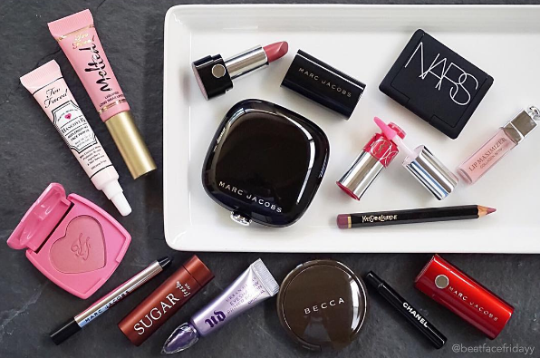 A typical Instagram #makeuphaul.