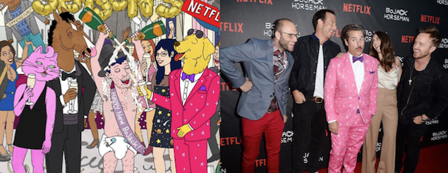 """The cast... and cast of """"BoJack Horseman"""""""