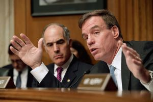 Sen. Mark Warner, during a committee hearing.