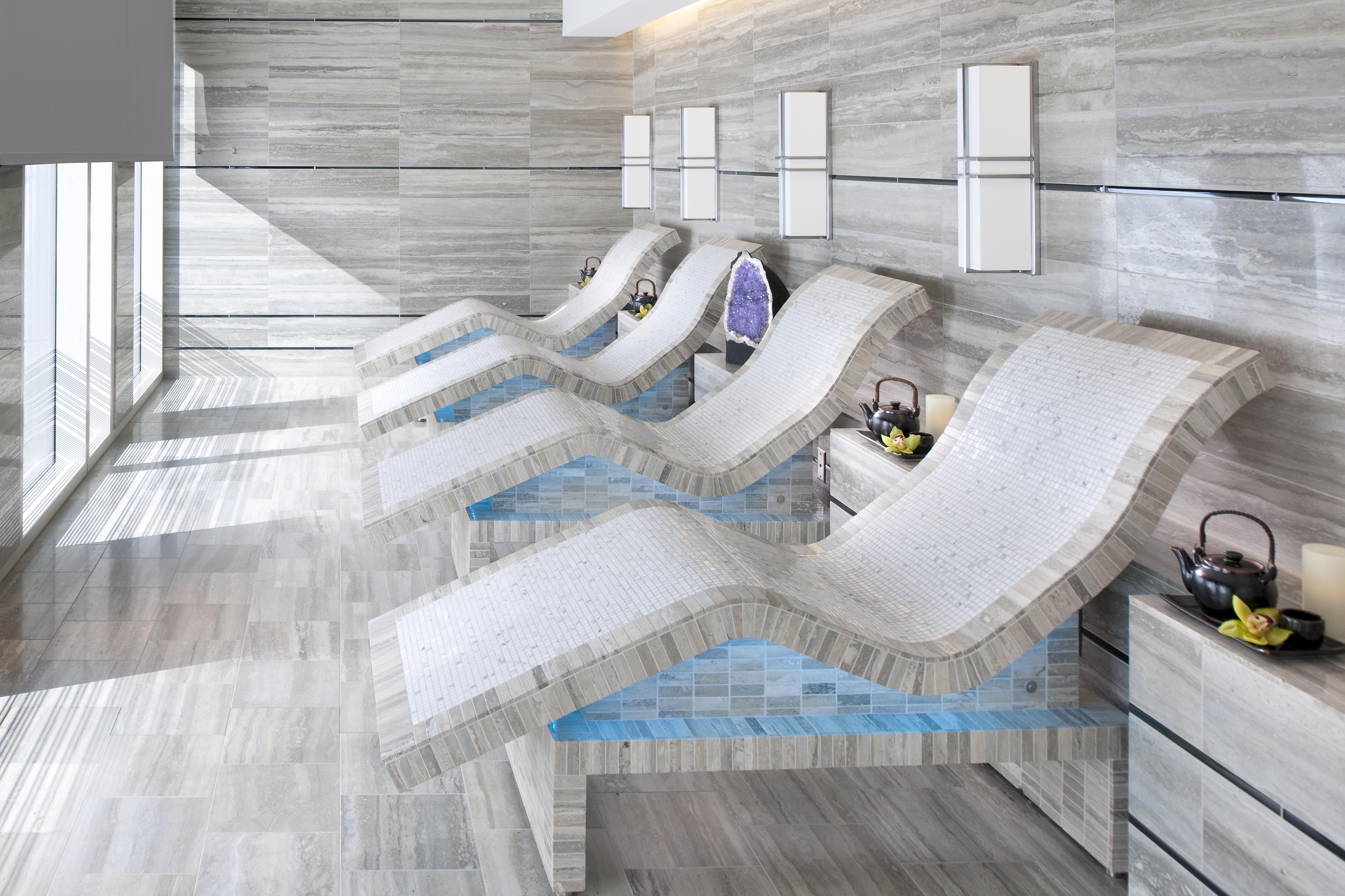 Tepidarium chairs.