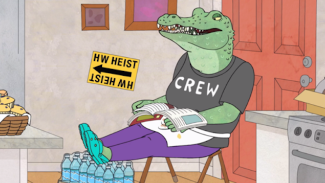 """A female character character in the """"BoJack"""" world"""