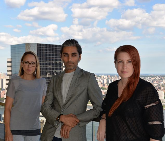 Judith La Branche, Sandy Dalal and Alexa Adams