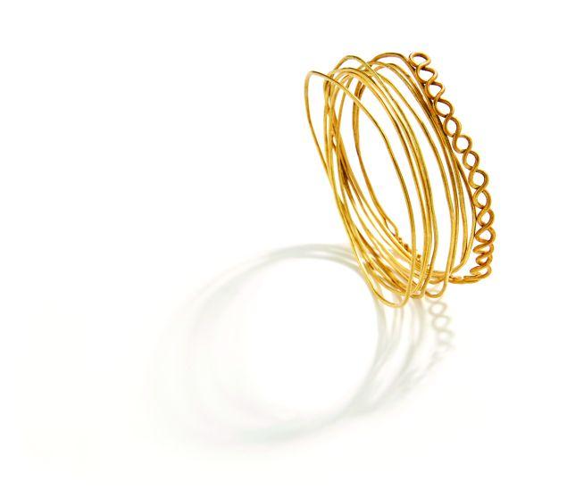 Gold bracelet. Naxos. 850-760 B.C.
