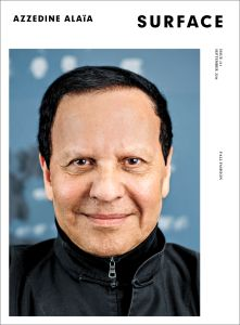 SURFACE Magaine No. 131 cover starring Azzedine Alaia