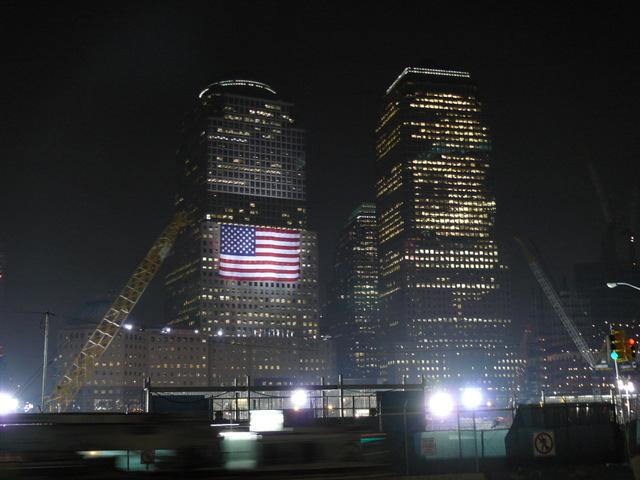Ground Zero on the 6th Anniversary of 9/11.