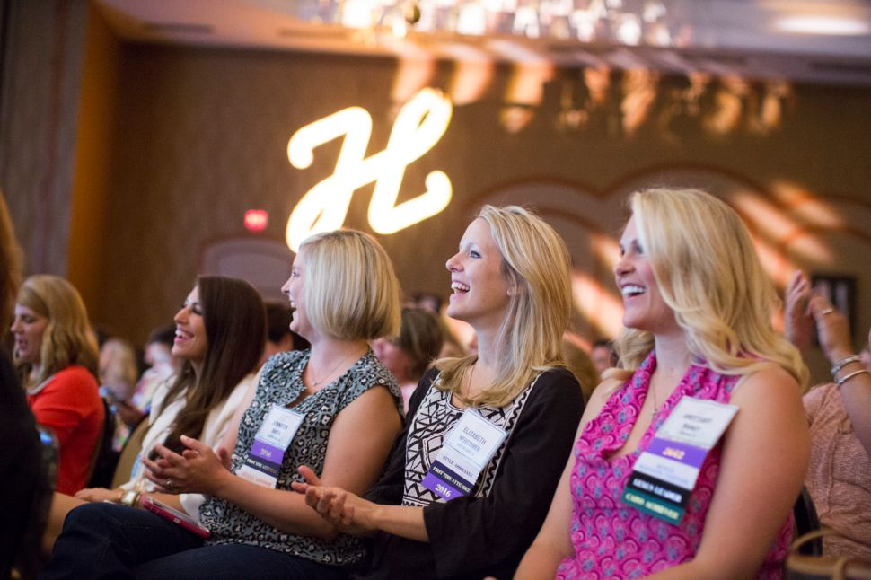 J. Hilburn stylists attend the brand's 2016 conference