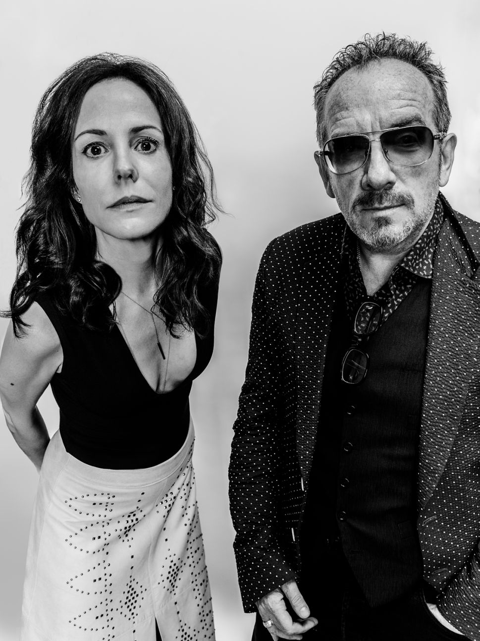 Elvis Costello and Mary Louise Parker.