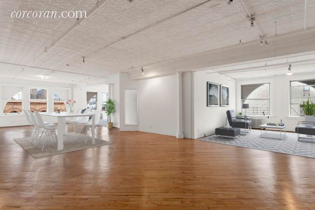 It looks like, well, a Soho loft.