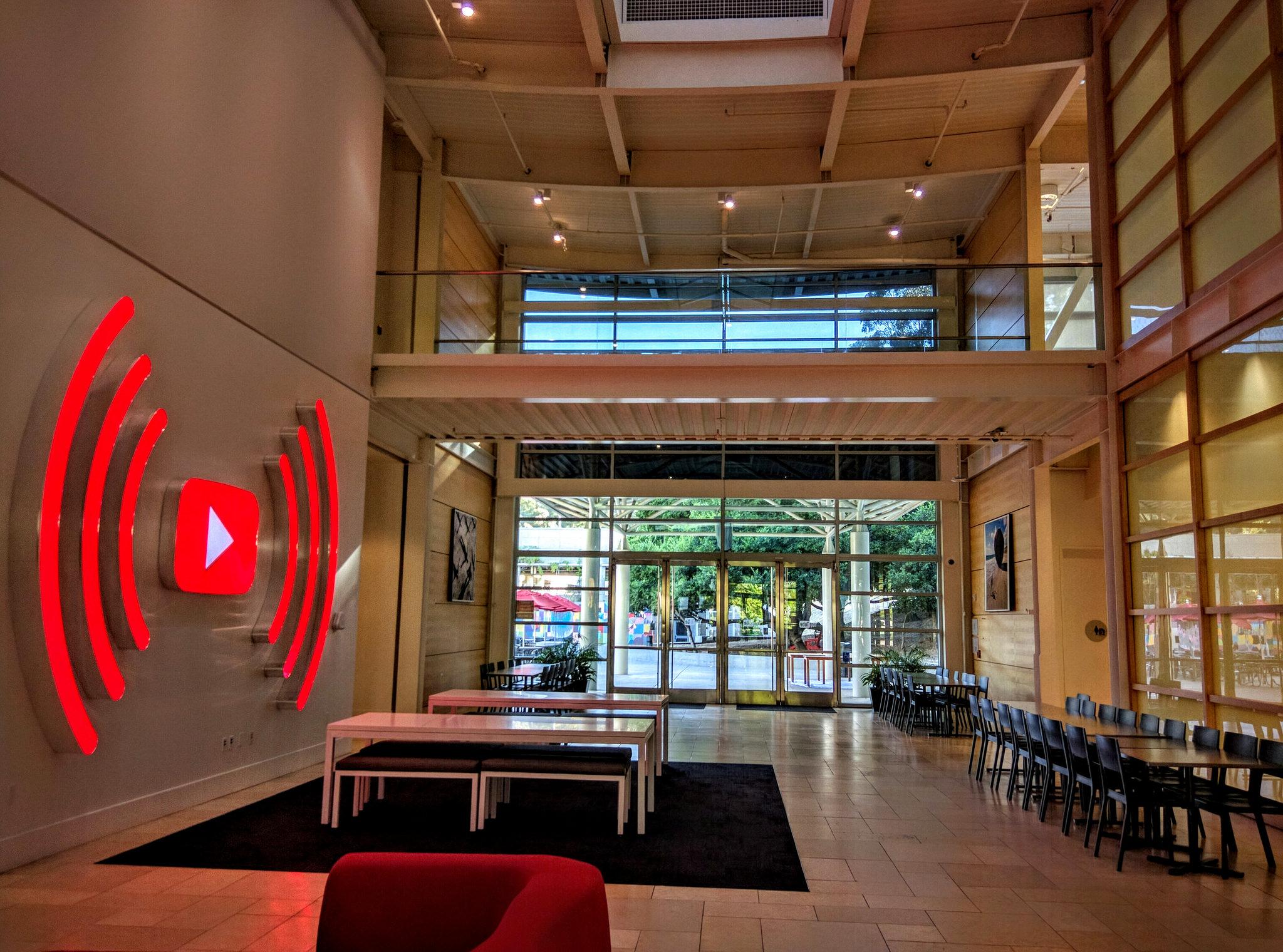 Youtube office in San Bruno