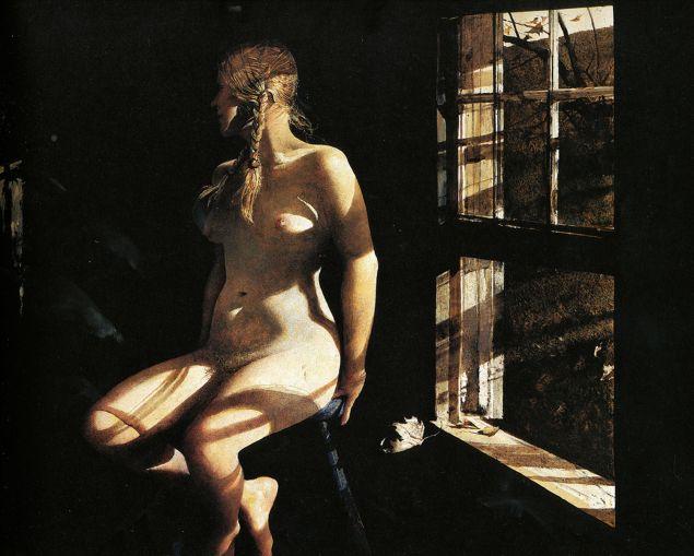 """Helga"" by Andrew Wyeth."