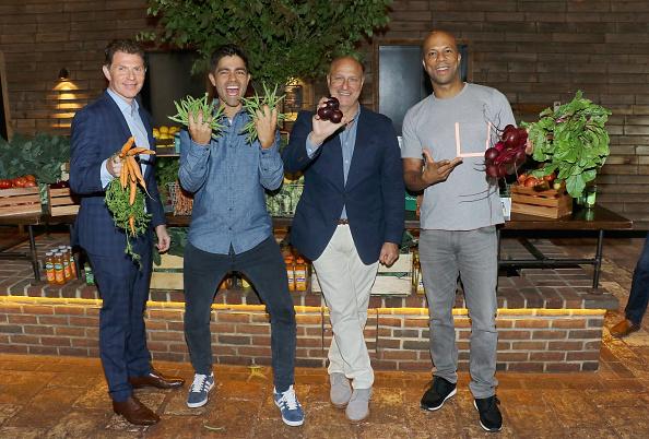 Chef Bobby Flay, Adrian Grenier, Chef Tom Colicchio, Common