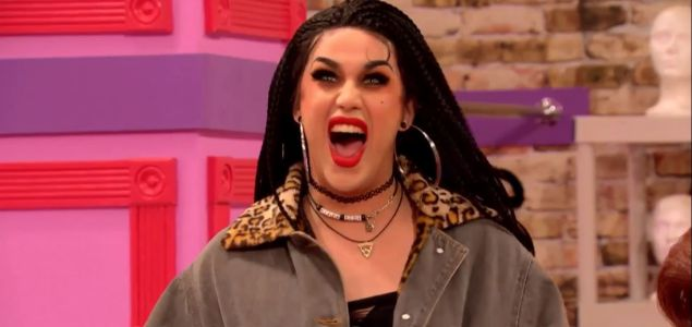 Adore Delano is ready to party.