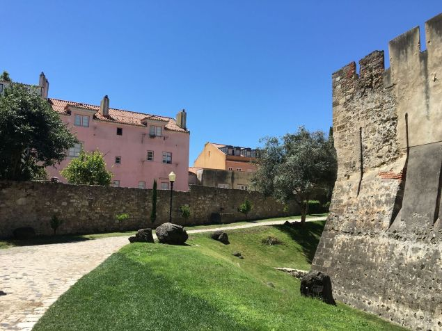 Sao Jorge Castle is a must-see in Lisbon.
