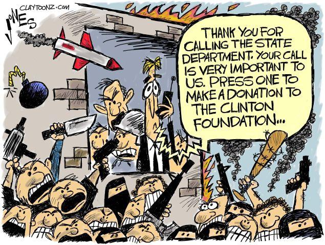 Hillary's Foundation.