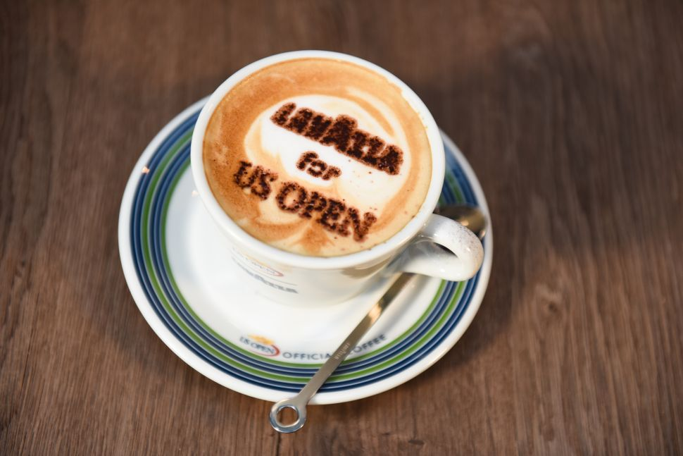 Lavazza Celebrates: the Return of Andre Agassi to the US Open