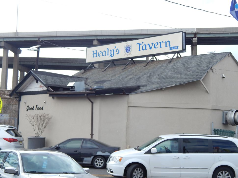 Healy's Tavern in Jersey City: NJ politics hotspot.