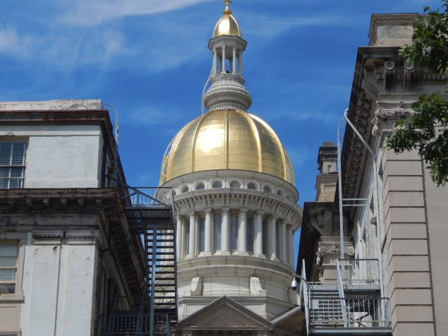 New Jersey State Capitol.