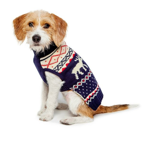 Fab Dog Moose Fairisle Sweater, $30-$35