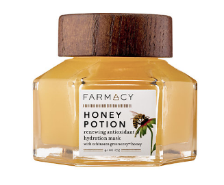 Farmacy Honey Potion Renewing Antioxidant Hydration Mask, $56