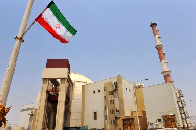 This handout image supplied by the IIPA (Iran International Photo Agency) shows a view of the reactor building at the Russian-built Bushehr nuclear power plant as the first fuel is loaded, on August 21, 2010 in Bushehr, southern Iran.