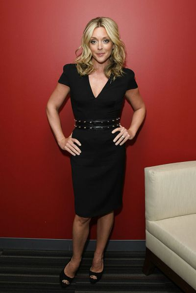 Jane Krakowski is able to use the product, even with her processed hair.