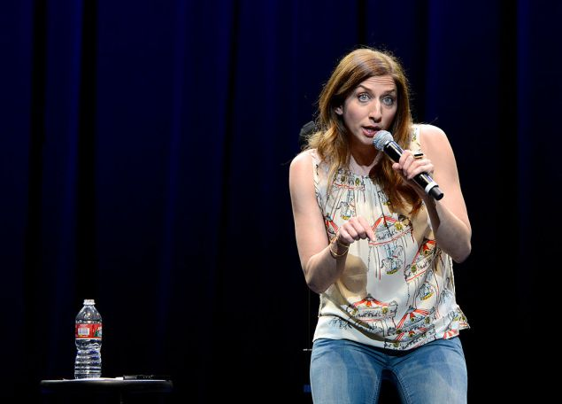 LOS ANGELES, CA - DECEMBER 10: Comedian Chelsea Peretti attends the WE HATE HURRICANES Comedy Benefit For AmeriCares at Club Nokia on December 10, 2012 in Los Angeles, California.