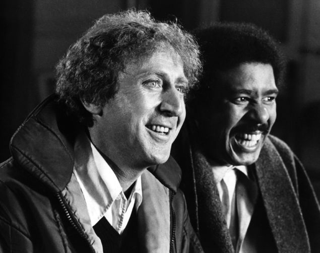 Gene Wilder and Richard Pryor.