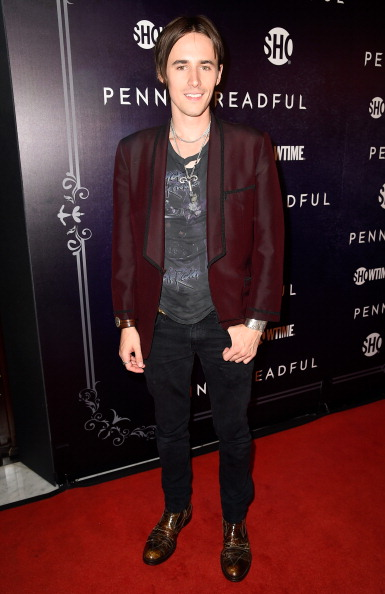 "Reeve at a ""Penny Dreadful"" premiere"
