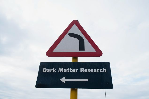 BOULBY, UNITED KINGDOM - NOVEMBER 20: A sign points the way to the Deep Underground Science facility