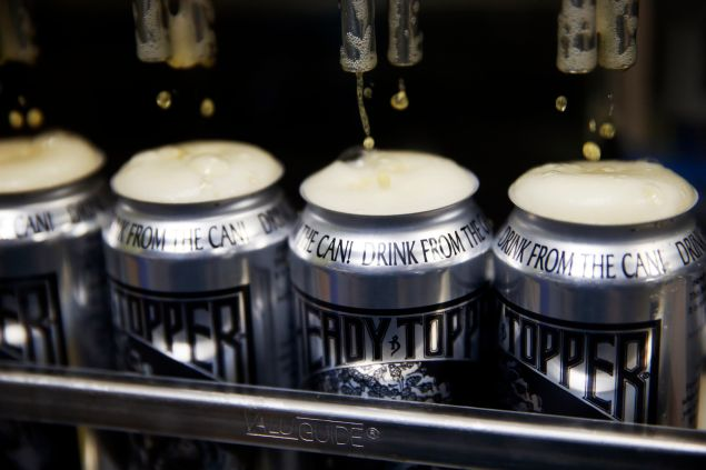 Heading to Burlington is your best chance at snagging a can of the world-renowned Heady Topper.