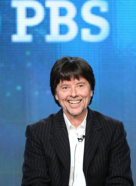 Filmmaker Ken Burns speaks onstage during the 'Ken Burns's The Address' panel discussion at the PBS portion of the 2014 Winter Television Critics Association tour at Langham Hotel on January 20, 2014 in Pasadena, California.