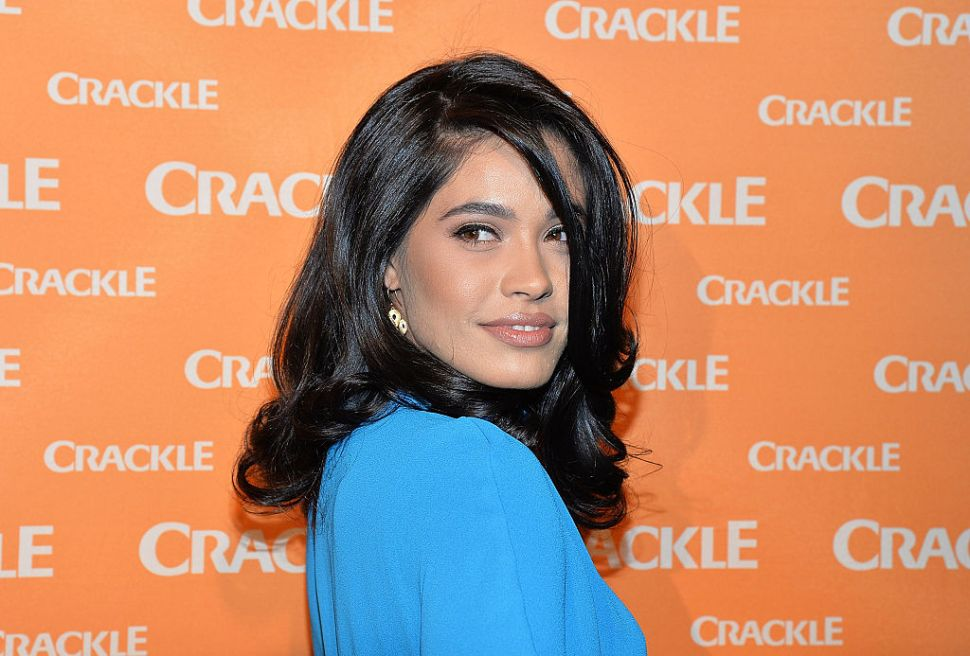 NEW YORK, NY - APRIL 20: Actress Otmara Marrero attends Crackle's 2016 Upfront Presentation at New York City Center on April 20, 2016 in New York City.