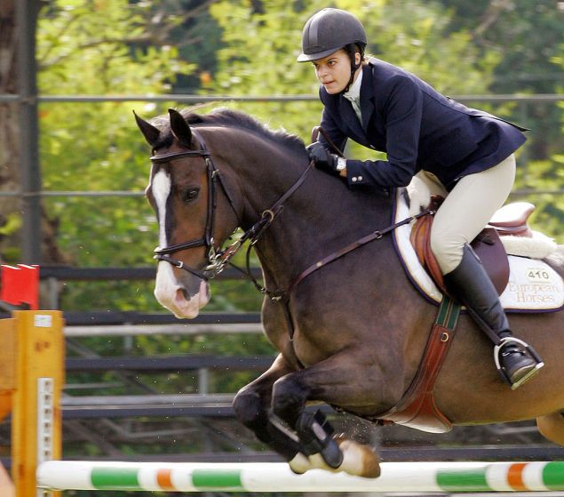 Athina Onassis is blonde and loves horses, so it's a match made in royal heaven.