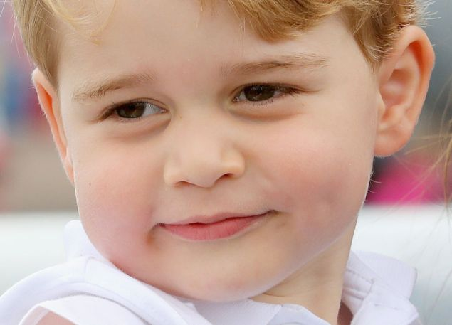 Imagine Prince George in a tiny fascinator.