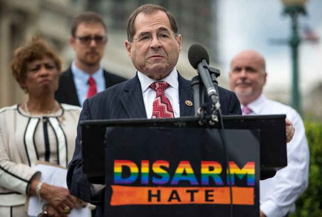 Represetnative Jerrold Nadler at the United States Capitol Building on July 12, 2016 in Washington, DC.
