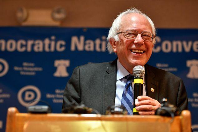 Senator Bernie Sanders .