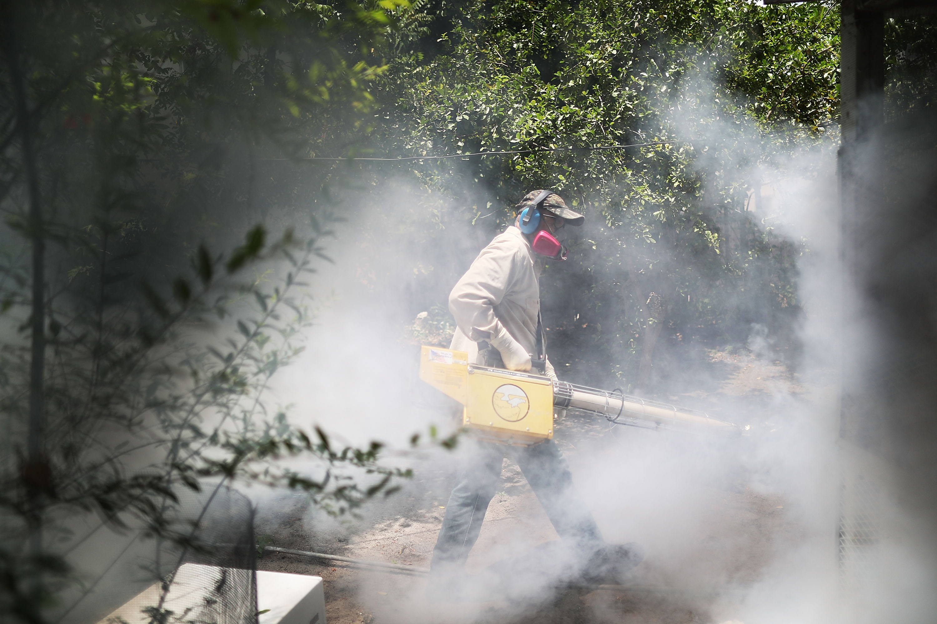 Wynwood, a Miami neighborhood, continues to fight to control the Zika virus outbreak on August 2, 2016.