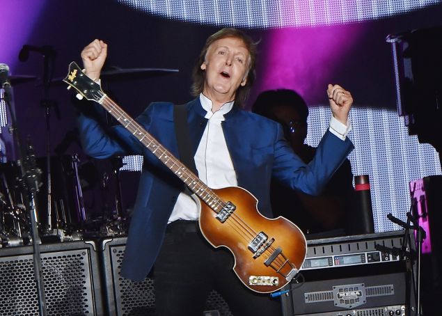 Paul McCartney performs at MetLife Stadium on August 7, 2016 in East Rutherford, New Jersey.